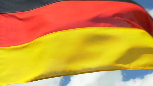 flag of germany - german flag stock videos & royalty-free footage