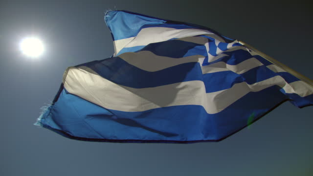 flagga av grekland - grekisk kultur bildbanksvideor och videomaterial från bakom kulisserna