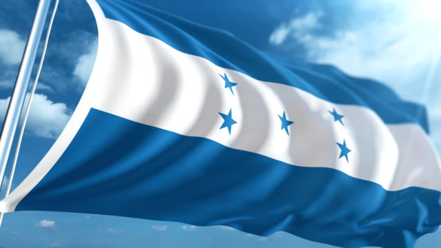 Flag of Honduras | Loopable