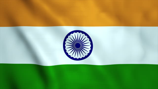 flag of india - indian flag stock videos & royalty-free footage