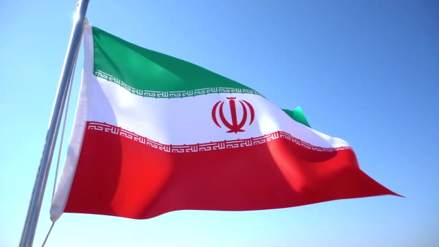 flag of iran - iran stock videos and b-roll footage