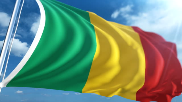 Flag of Mali   Loopable