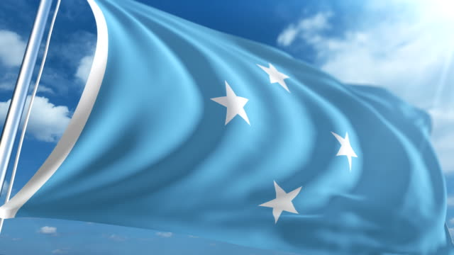 Flag of Micronesia | Loopable