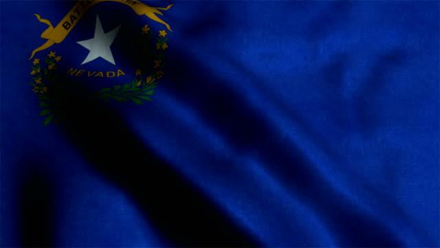 Flagge des US-Bundesstaates Nevada