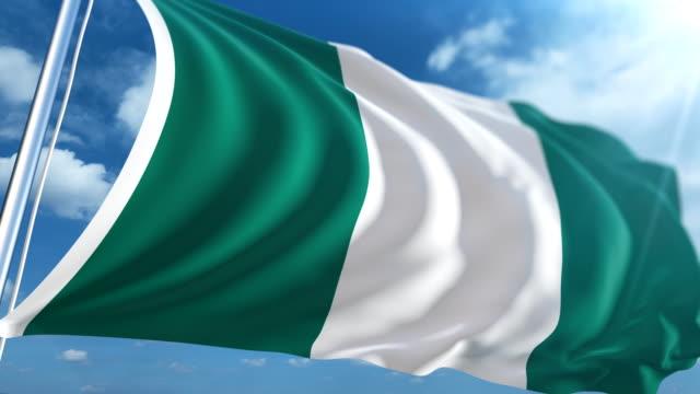 Flag of Nigeria   Loopable