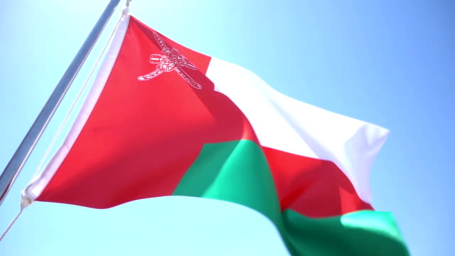flag of oman - flag stock videos & royalty-free footage