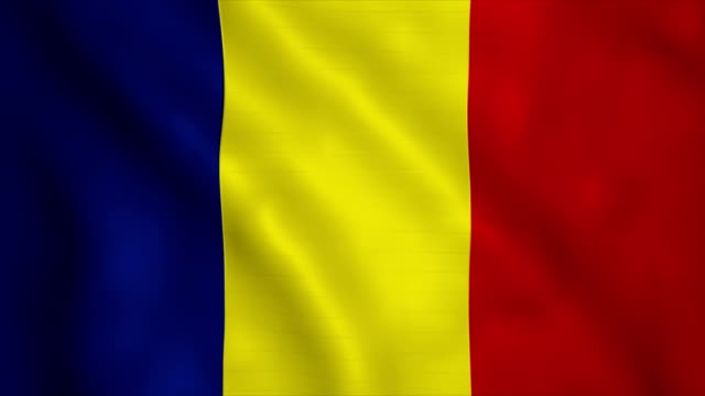 flag of romania - romania stock videos & royalty-free footage