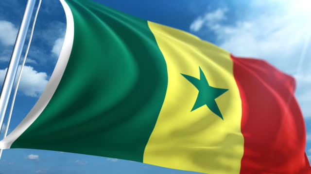 Flag of Senegal   Loopable
