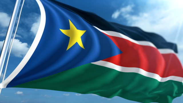 Flag of South Sudan | Loopable
