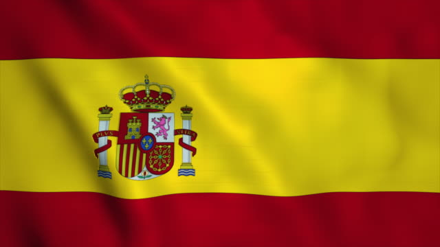 flag of spain - flag stock videos & royalty-free footage