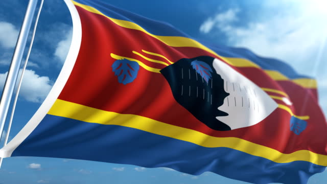 Flag of Swaziland | Loopable