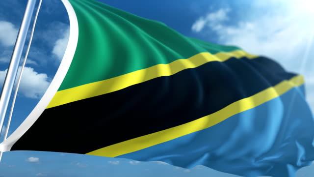 Flag of Tanzania | Loopable