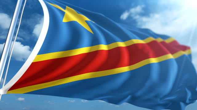 Flag of the Democratic Republic of the Congo | Loopable
