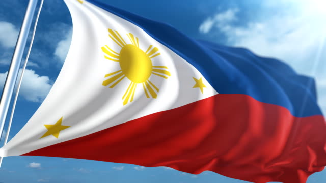 flag of the philippines | loopable - philippines flag stock videos & royalty-free footage