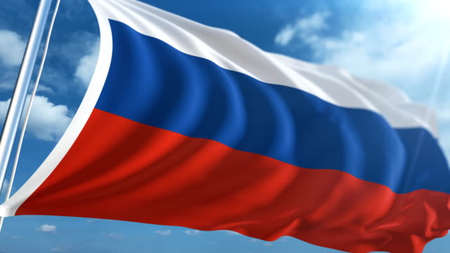 Flag of the Russia | Loopable