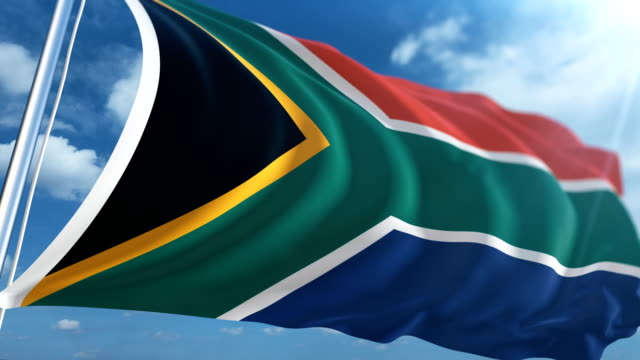 Flag of the South Africa | Loopable