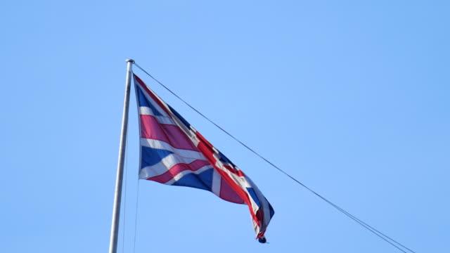4K Flag of the United Kingdom, England
