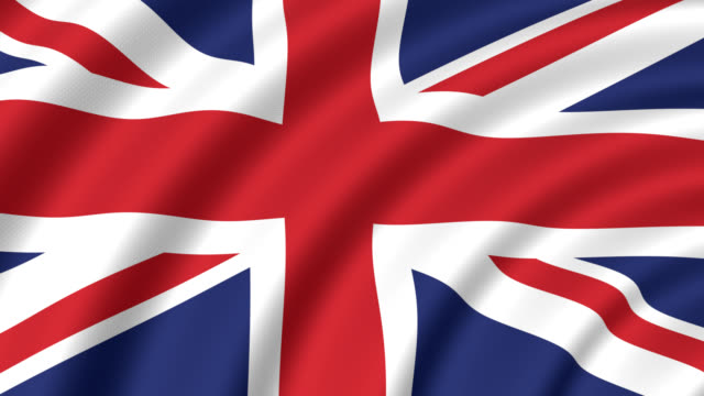 flag of the united kingdom - british flag stock videos & royalty-free footage