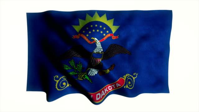 Flag Of The US State of North Dakota