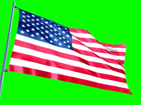 flagge der usa  - amerikanische flagge stock-videos und b-roll-filmmaterial