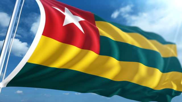 Flag of Togo | Loopable