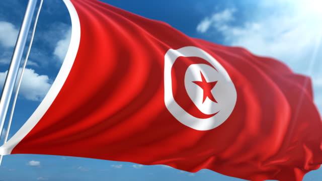 Flag of Tunisia | Loopable
