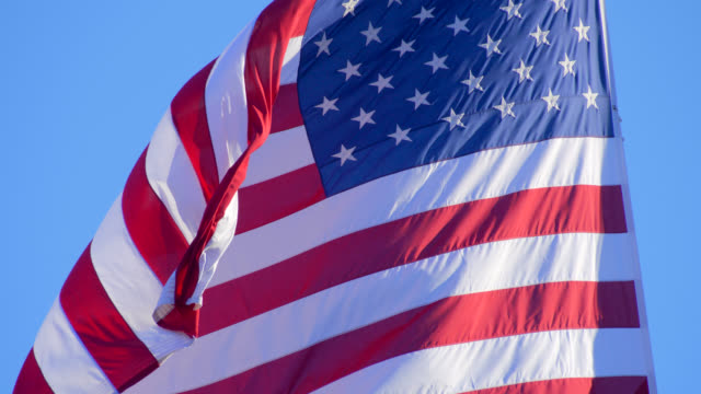 flag of usa - us military stock videos & royalty-free footage