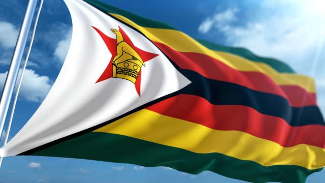 Flag of Zimbabwe   Loopable