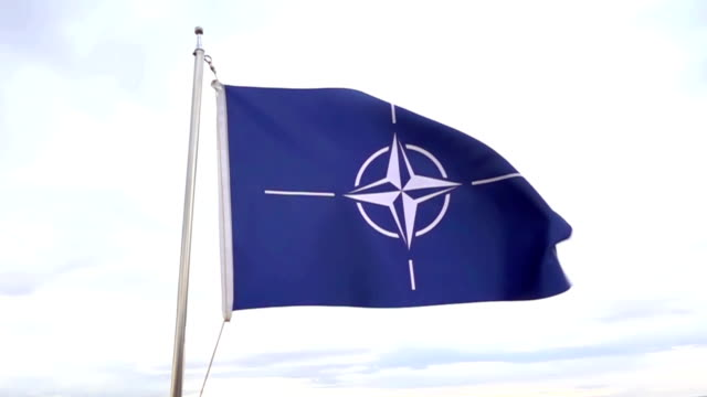 nato flag - nato stock videos & royalty-free footage