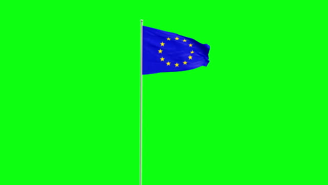 flag - eu flag stock videos & royalty-free footage