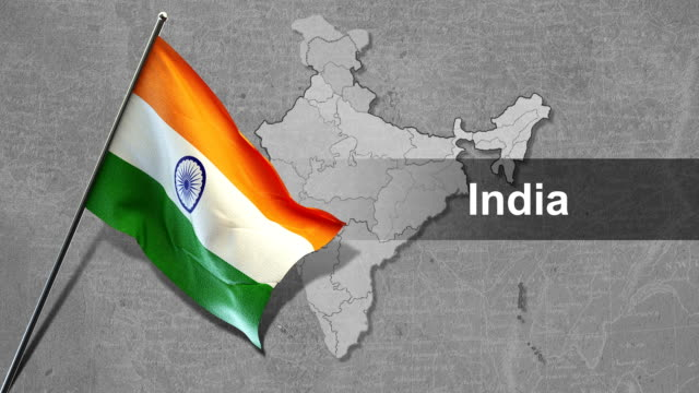 flag - indian flag stock videos & royalty-free footage