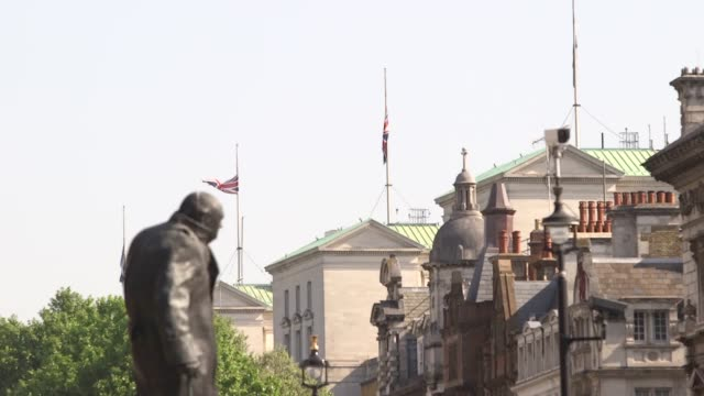 Flags fly at halfmast and will remain that way on government buildings until the evening of May 25 said a statement released jointly by 10 Downing...