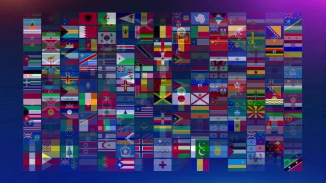 vídeos y material grabado en eventos de stock de banderas del mundo - pakistán