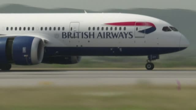 flagship airline british airways will temporarily lay off 28,000 employees, or 60 percent of its workforce, due to the coronavirus crisis which is... - employee stock videos & royalty-free footage