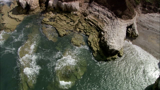 Flamborough Head And Cliffs  - Aerial View - England, United Kingdom