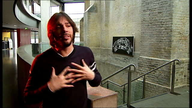 joaquin cortes interview / rehearsal at roundhouse; joaquin cortes interview sot - on how he feels at the moment, happy, comfortable, return to the... - western european culture stock videos & royalty-free footage