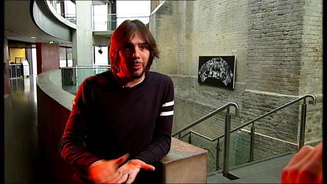 joaquin cortes interview / rehearsal at roundhouse; joaquin cortes interview sot - on taking up the role as eu ambassador for the romany people, was... - western european culture stock videos & royalty-free footage