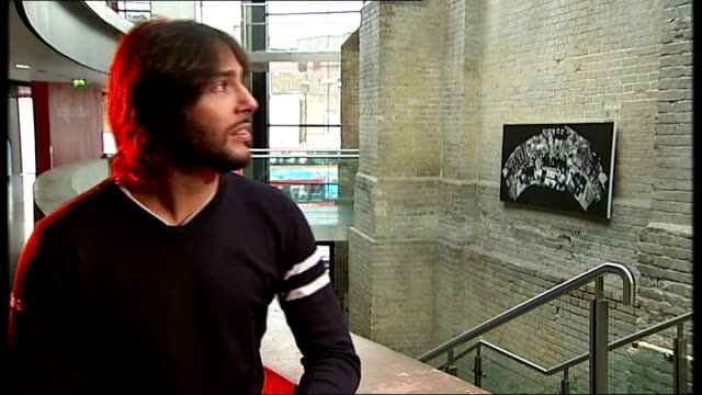 joaquin cortes interview / rehearsal at roundhouse; england: london: roundhouse theatre: int joaquin cortes meeting reporter and preparing for... - western european culture stock videos & royalty-free footage