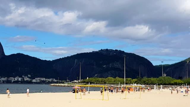 Flamengo Beach und Zuckerhut in Rio De Janeiro