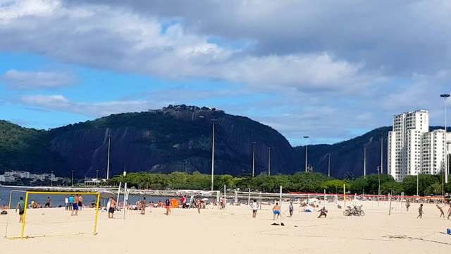 Flamengo Beach and Sugarloaf in Rio de Janeiro