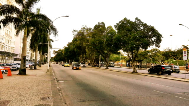 Flamengo Beach Avenue i Rio de Janeiro