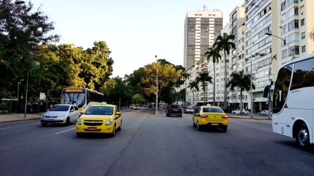 Flamengo Beach Avenue in Rio de Janeiro