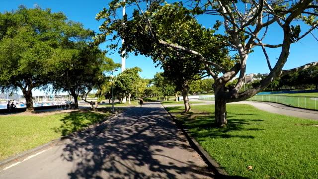 flamengo park in rio de janeiro - grounds stock videos & royalty-free footage