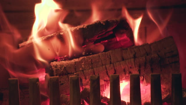 flames color - log stock videos & royalty-free footage