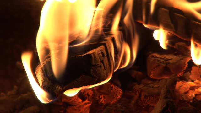 hd: flames in the oven - hearth oven stock videos & royalty-free footage