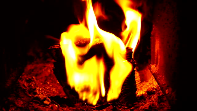 flames in the oven - hearth oven stock videos & royalty-free footage