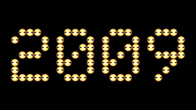 hd: flashing 2009 - digital enhancement stock videos & royalty-free footage