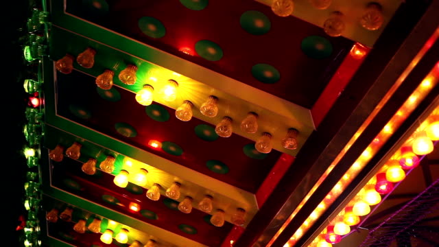 stockvideo's en b-roll-footage met flashing lights - elektrische lamp