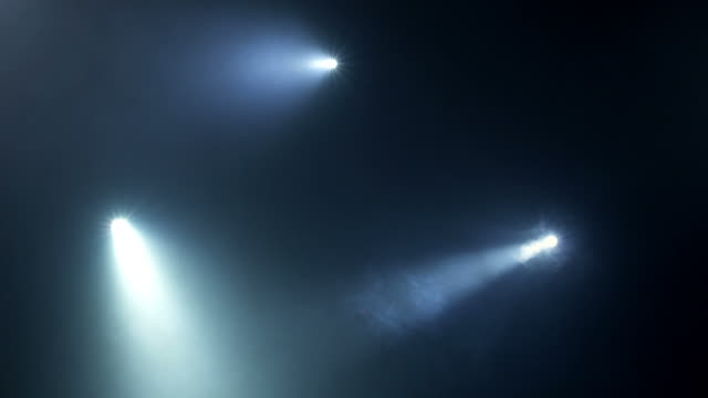 flashlights in fog - electric torch stock videos & royalty-free footage