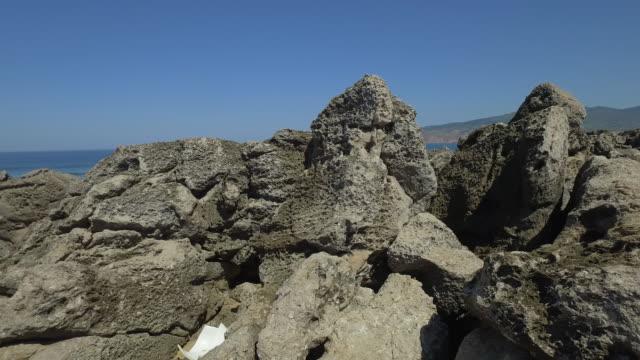 ポルトガルのフラット岬 - カスカイス点の映像素材/bロール